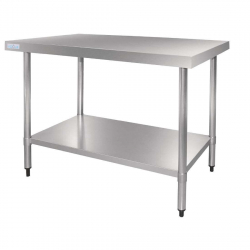 Table en acier inox Vogue 600mm