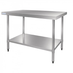 Table en acier inox Vogue 900mm