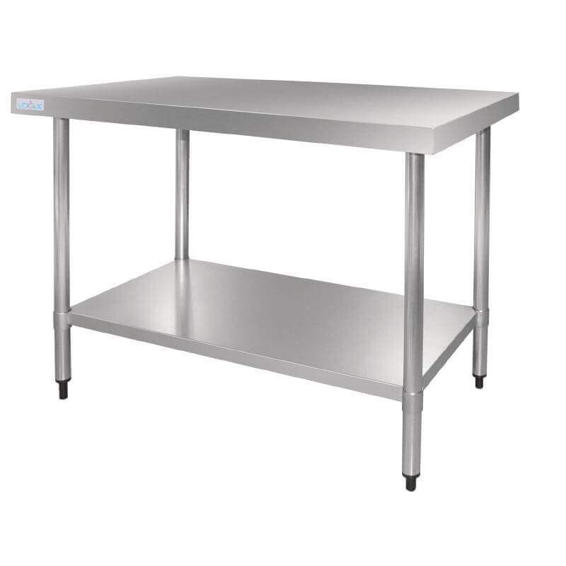 Table en acier inox vogue 1200mm for Table en acier