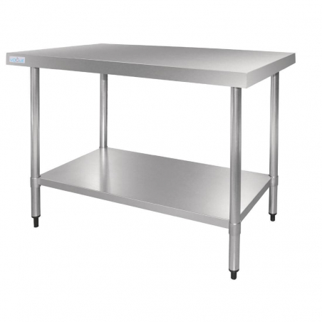 Table en acier inox Vogue 1800mm