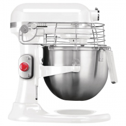 Batteur professionnel Kitchenaid blanc
