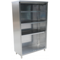 RVS open kast 500 mm (P)